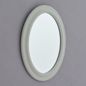 Elsie White Or Grey Wood Framed Mirror