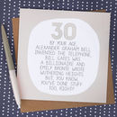 By Your Age… Funny 30th Birthday Card