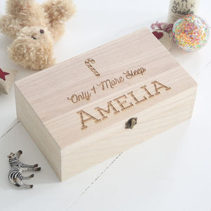 Personalised Christmas Eve Box - wrapping