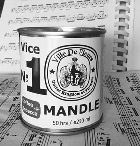 Mandle | Soy And English Cobnuts Man Candle | Coffee