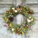 Wild At Heart Dried Flower Wreath