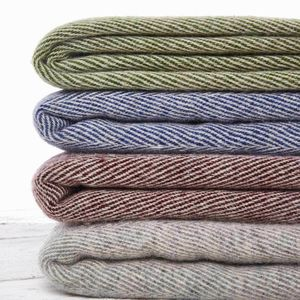 Essential Pure Wool Throw Collection