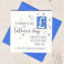 Personalised Father's Day I Owe You Card