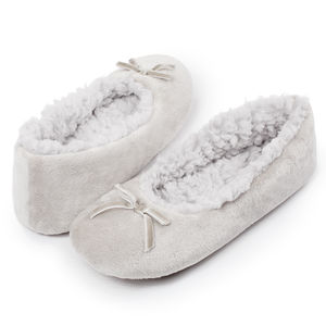Dove Cloud Ballerina Slippers