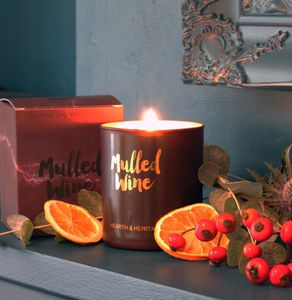 Mulled Wine Scented Candle - christmas eve for grown ups