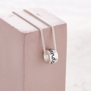 Wanderlust Solid Silver Mojo Travel Charm
