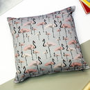 Flamingo Party Cushion