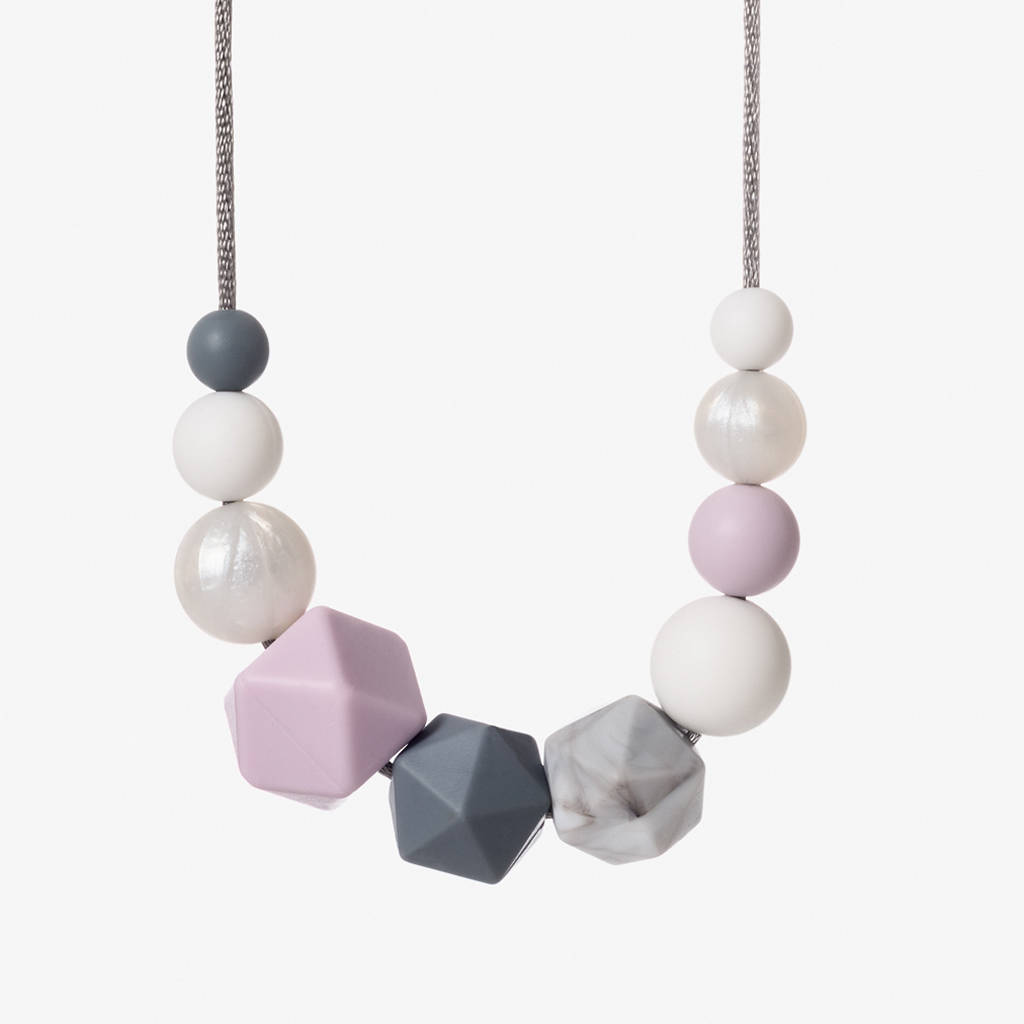 Sweet tooth teething necklace by foxs felts notonthehighstreet sweet tooth teething necklace aloadofball Choice Image