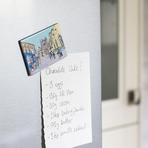 Bath Abbey Fridge Magnet - storage & organising