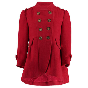 Military Coat Red