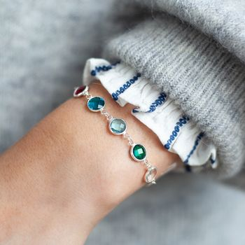 Create Your Own Family Birthstone Bracelet