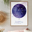 Botanical Watercolour Constellation Print