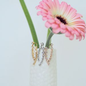 Dazzling Ear Climbers - earrings