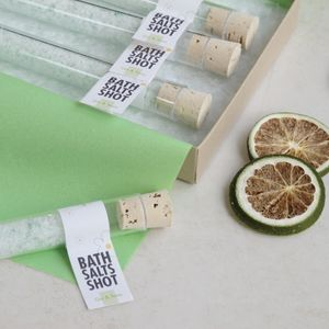 Gin And Tonic Bath Salts Shots Gift Set - gifts for her