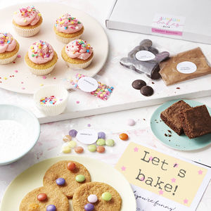 Three Month Junior Bakes Box Subscription - make your own kits