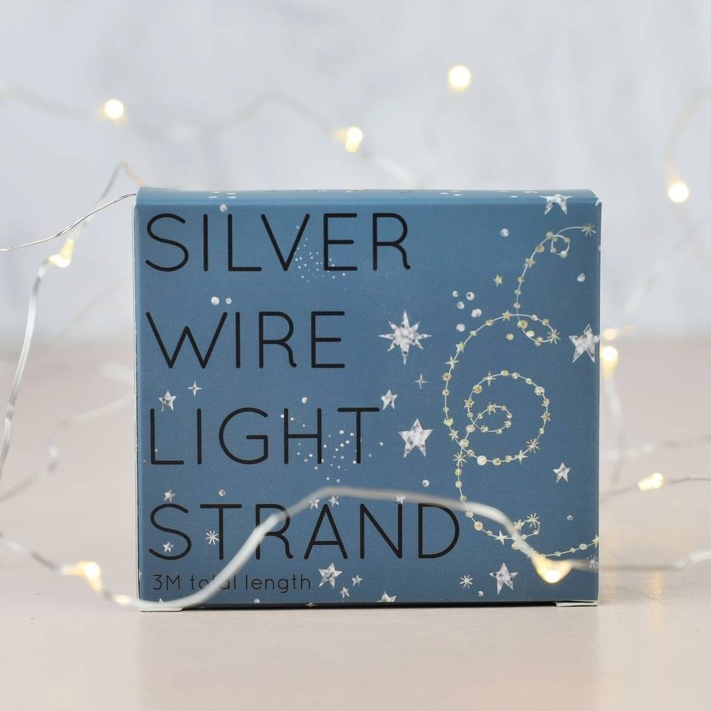 30 led battery powered wire string lights by lisa angel homeware ...