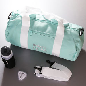 Personalised Fit Kit Gym Bag - holdalls & weekend bags