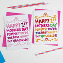 Happy First Mothers Day Card