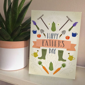 Green Thumb Father's Day Card