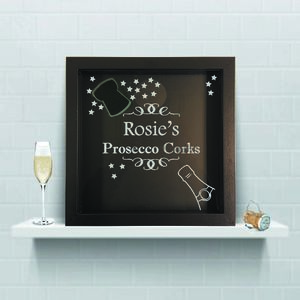 Keepsake Box For Prosecco Corks - boxes, trunks & crates