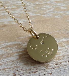 Brass Constellation Necklace - shop by price