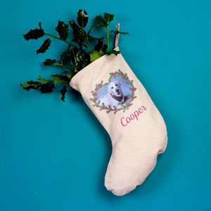 Personalised Pet Christmas Stocking - personalised