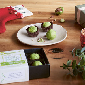 Chocolate Brussels Sprouts - gifts for him