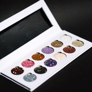 Glitter Eyes Pressed 12 Pan Palettes
