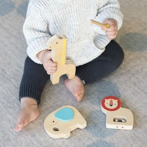 Wooden Jungle Animal Instruments - toys & games
