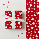 Love Hearts Wrapping Paper Set