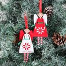 Christmas Snowflake Fairy Hanging Tree Decoration