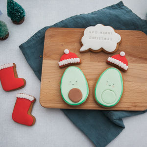 Avo Merry Christmas Biscuit Gift Box - cakes & sweet treats