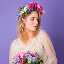 Maurelle Peony And Daisy Crown