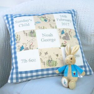 Peter Rabbit© Memory Cushion** - whatsnew