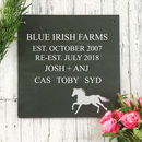 Personalised Custom Engraved Slate Sign