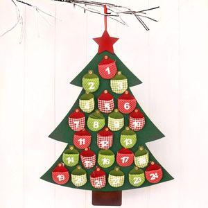 Felt Christmas Tree Advent Calander - advent calendars