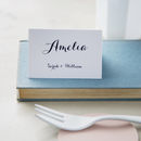Elegance Wedding Place Cards