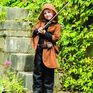 Children's Cloak And Accessory Set