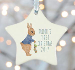 Baby's First Christmas Tree Decoration's - keepsakes