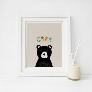 Peekaboo Bear In Colour, Toddler Gift