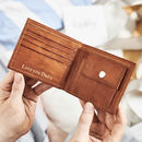 Men's Simple Leather Wallet