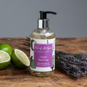 Lavender And Lime Luxury Hand Soap