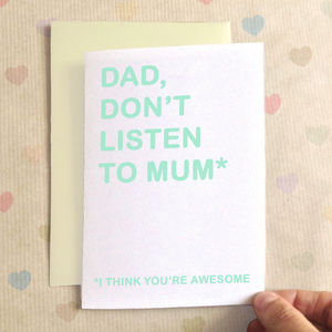 Personalised Awesome Birthday Card