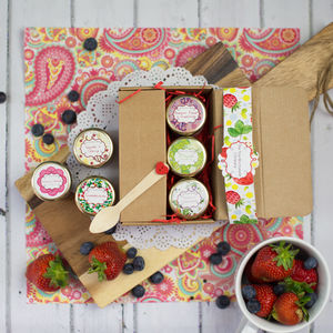 Gourmet Strawberry Jam Taster Box - foodies