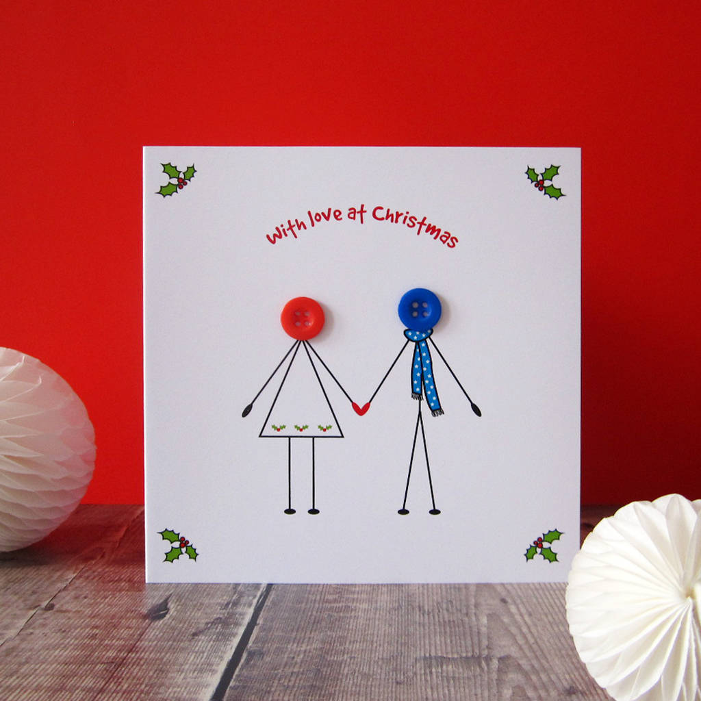 girlfriend and boyfriend christmas card - Boyfriend Christmas Card