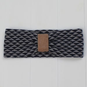 Triangle Knitted Headband