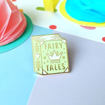 Fairy Tales Enamel Pin