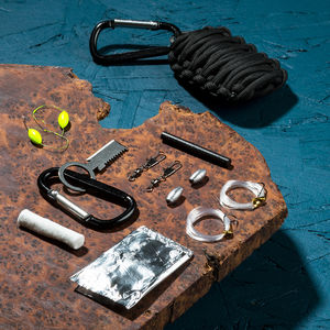 'Grenade' Survival Accessory Kit - men's style