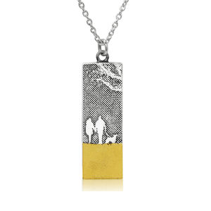 Beach Walks With Mum And Dad Necklace