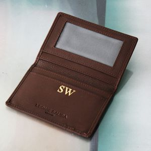 Personalised Card And ID Wallet - men's accessories